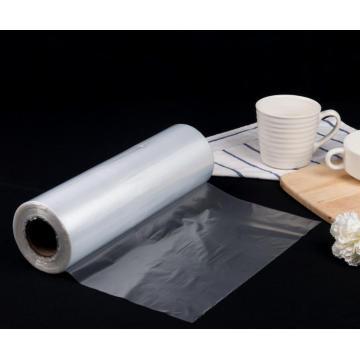 Saco plástico do rolo de empacotamento de alimento