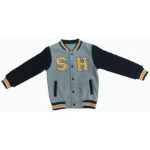 Men/Boy Fashion Baseball Cotton Fleece Sport Jacket Clothes