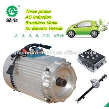 окружающая среда содружественная 48В электрический вилочный погрузчик тяговый электродвигатель