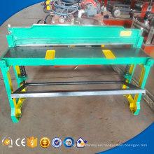Máquina automática de corte de prensa hidráulica de hoja plana