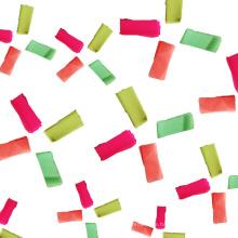Großhandels-UVlicht-Konfetti-Seidenpapier-Beleg für Nachtclub-Partei, Bar und Bühneneffekt