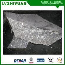 alta pureza mejor precio Sb2o3 99.9% lingote de antimonio / lingotes de estibio