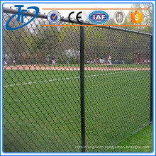 2016 hot sale cheap electric galvanized iron chain link fence , stainless steel wire mesh