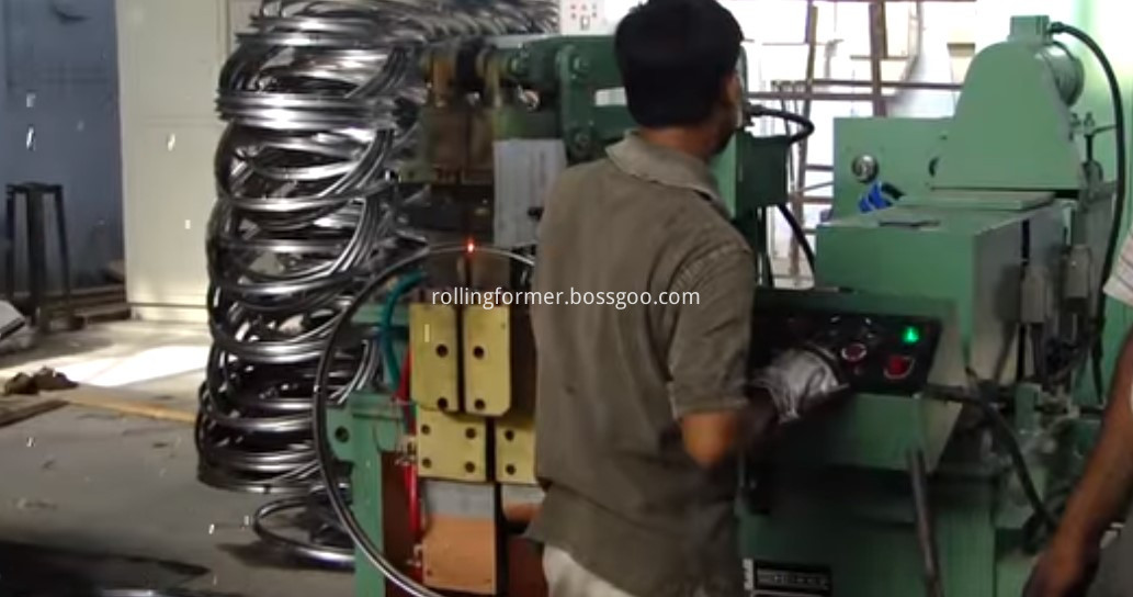 ring rim production line