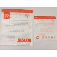 Stand Up Plastic Garment Bag With Zipper