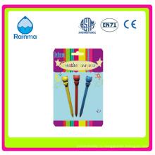 Цветной карандаш с изображением животных