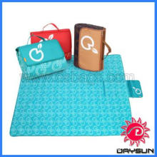 Outdoor Foldable Picnic Blanket with handle
