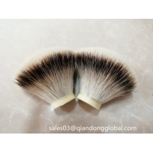 Forme de fan Silvertip Badger Knots
