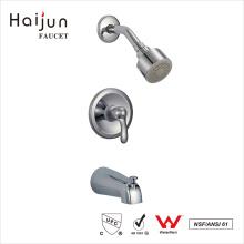 Haijun recién diseño AB1953 artístico de latón montado en la pared de ducha Facuets