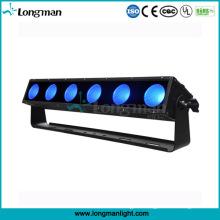 6PCS 25W Rgbaw 5in1 Pixel Light LED Bars for Plants
