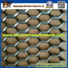 Anodizar aluminio expandido de malla de metal para muro cortina