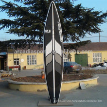 Top Quality Race Athletics Inflatable EVA Nonslip SUP Paddle Boards With Fins