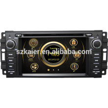 Hot Selling wince 6.0 car stereo for Jeep Grand Chrokee/Wrangler/Journey with GPS/Bluetooth/Radio/SWC/Virtual 6CD/3G /ATV/iPod
