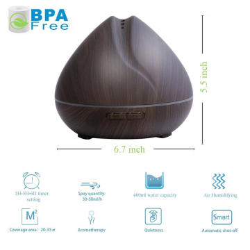 400ml Aromatherapy Essential Oil Diffuser