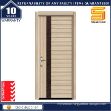 Exterior and Interior Solid Wooden Panel Door
