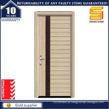 Entrada de madeira maciça interior madeira porta de madeira