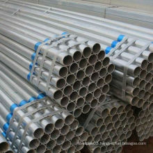 New Stock of ERW Galvanized Steel Pipe