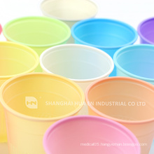 pink disposable dental plastic cup