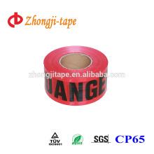 Eye-catching pe barrier tape