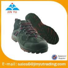 Zapatos de senderismo de cuero genuino para hombres