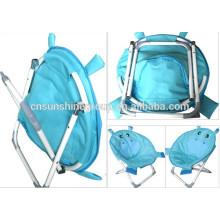 Assento duplo camping cadeira para barato, crianças cadeira, crianças, dobramento duplo cadeiras de praia