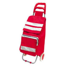 Popular Foldable 2 Wheel Shopping Trolley with Bag (SP-548)