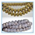 Nuevos granos del rondelle de los colores, mercado de los granos de yiwu