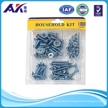 High Quality Household Hardware (Assorted of 100PCS Screws, Nuts and Washers)