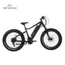 Bicicleta eléctrica del neumático gordo de alta calidad del motor de la impulsión media de Bafang 750w 2017