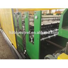 Qualität Doppelschicht Aluminium Metall Wandscheibe Dachblech Rollenformung Making Machine mit günstigen Preis, Double Deck Rollformer