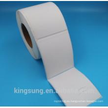 rollo de papel térmico de alta calidad etiqueta fabricante