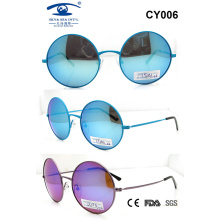 Colourful Latest Fashion Metal Sunglasses (CY006)