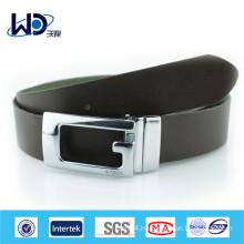 Reversal Buckle Genuine Cowhide Leather Belt
