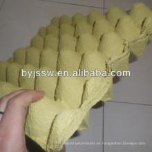 Bandejas de huevo de molde de pulpa