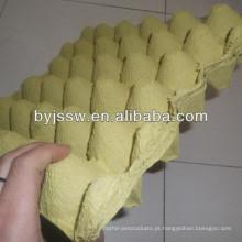 Bandejas de ovos de moldes de celulose