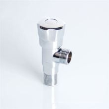 wall mounted brass angle valve1 2 x 1 2 chrome with plastic cap