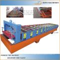 Hoja de techos Hoja Hoja de corrugado Hoja de laminado que forma la máquina / Color Hoja de techo de acero que forma la línea