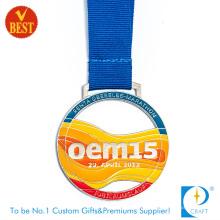 Bunter spezieller Entwurfs-Backlack OEM15 Metallmedaille am Fabrik-Preis