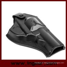 Coldre de couro do exército tático força couro Revolver pistola coldres