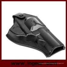 Ejército táctico fuerza cuero revólver pistola pistolera (corto)