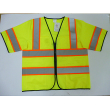 Popular Reflective Safety Vest with Short Sleeves