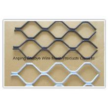 Verzinkter Kettenglied-Zaun / PVC-überzogener Kettenglied-Zaun / Edelstahl-Kettenglied-Zaun (Fabrik u. ISO9001)