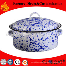 Sunboat 3qt Enamel Pot /Saucepan /Hot Pot Mini Pot