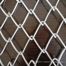 Clôture de sécurité de maillon de chaîne pour la protection