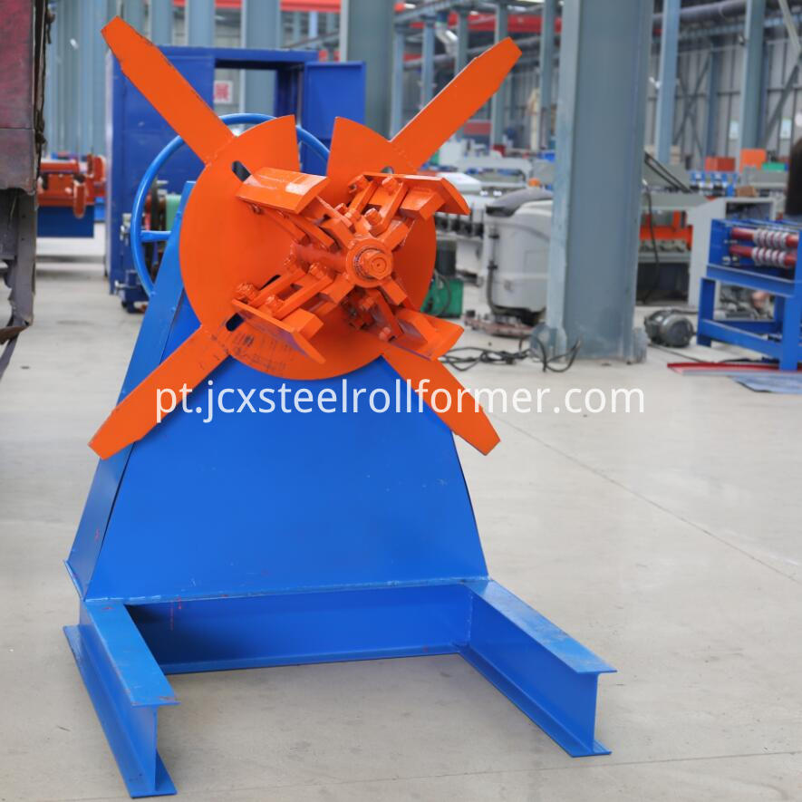 c purlin steel strip decoiler