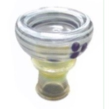 New Design Wholesale Medium Size Colorful Hookah Ceramic Head