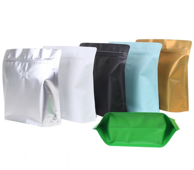 Square Aluminium Bag