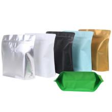 Sacos de alumínio quadrado colorido com válvula de gás