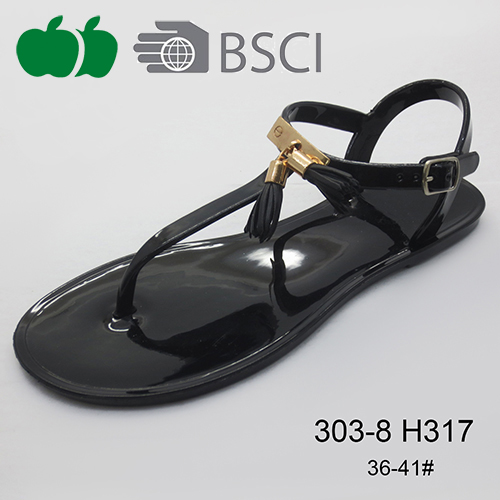 Ladies popular jelly sandals