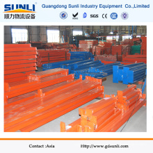 Q235B Edelstahl Orange Rack Beams